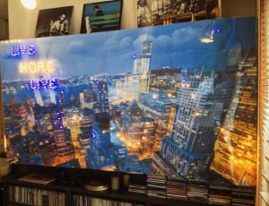横浜 音楽教室 発表会 背景 アート 壁 電飾 パネル ライブ モアハーモニー 横浜駅 横浜市西区