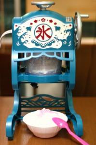 かき氷機 レトロ 電動 セッション