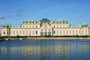 ウィーン ベルヴェデーレ宮殿