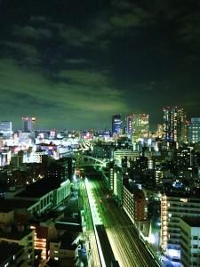 横浜駅 夜景