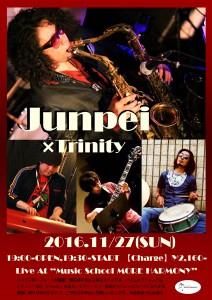 JUNPEI 藤田純平 SAX TRINITY ピアノトリオ