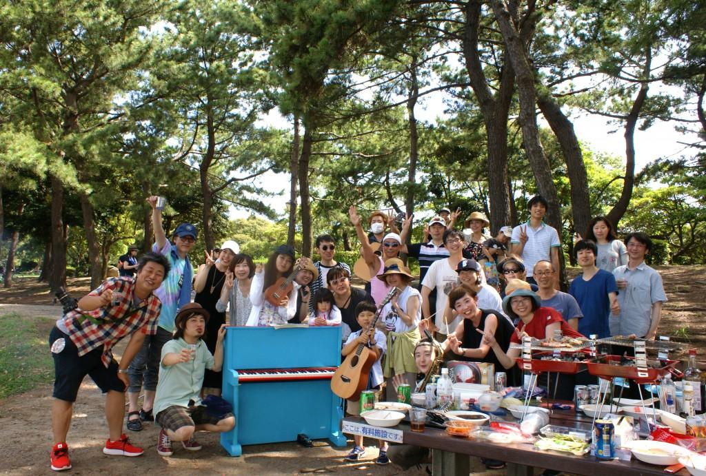 横浜 海の公園バーベキュー